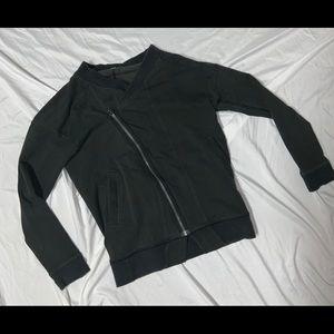 Lululemon Black Athletic Workout Full Zip Jacket